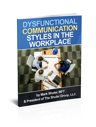 Dysfunctional Communication Styles Report Thank You | The Shuler