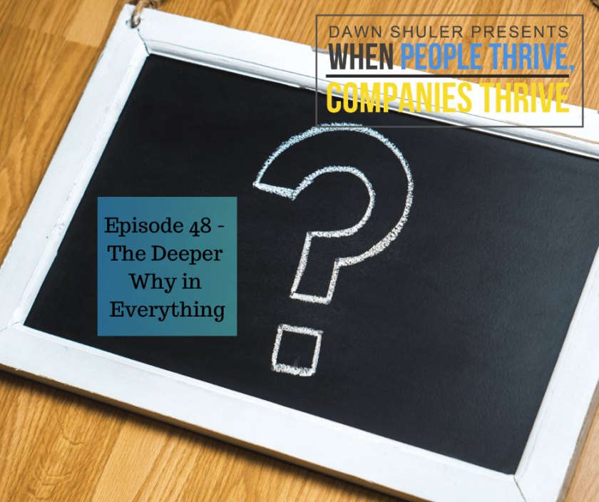 Episode 48 – The Deeper Why in Everything