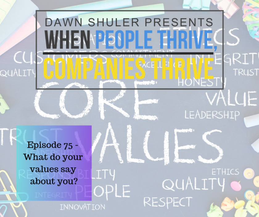 What Do Your Values Say About You?