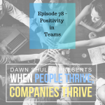 Positivity in Teams