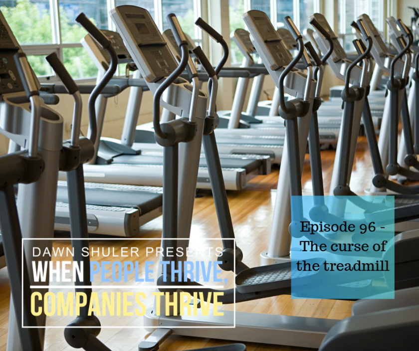 The curse of the treadmill