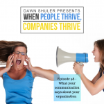 What your communication says about your organization