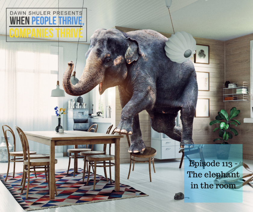 Episode 113 – The elephant in the room