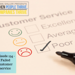 Episode 154 – Failed customer service