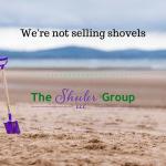 We're not selling shovels
