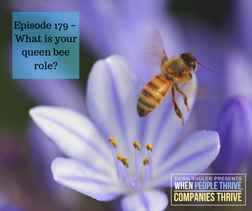 Episode 179 – What is your queen bee role?