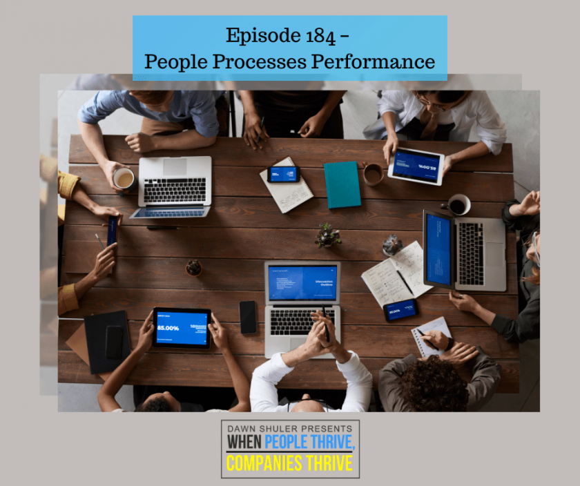 Episode 184 – People Processes Performance
