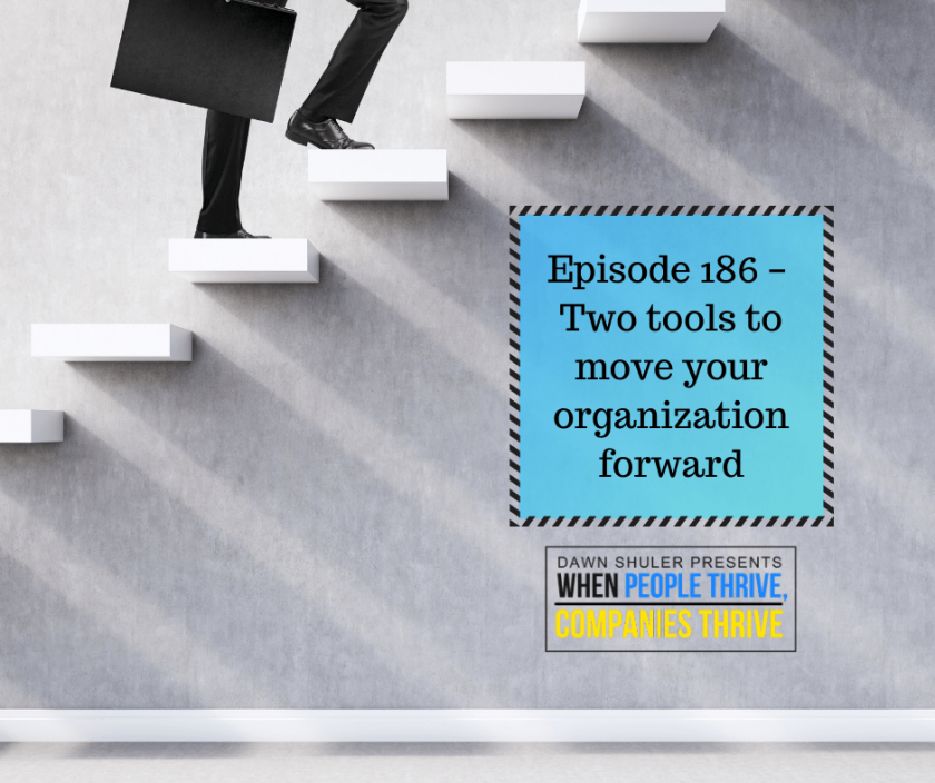 Episode 186 – Two tools to move your organization forward